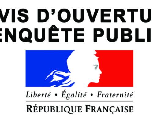 PPRMvt – Avis d'ouverture d'enquête publique