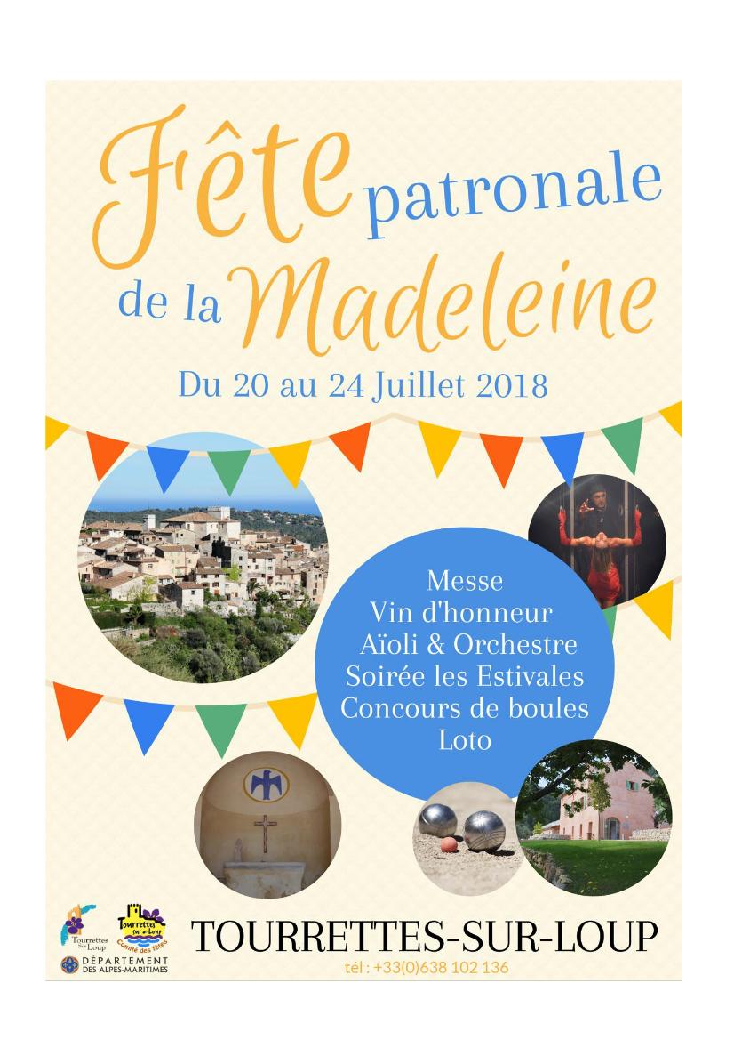 2018 07 Madeleine Affiche