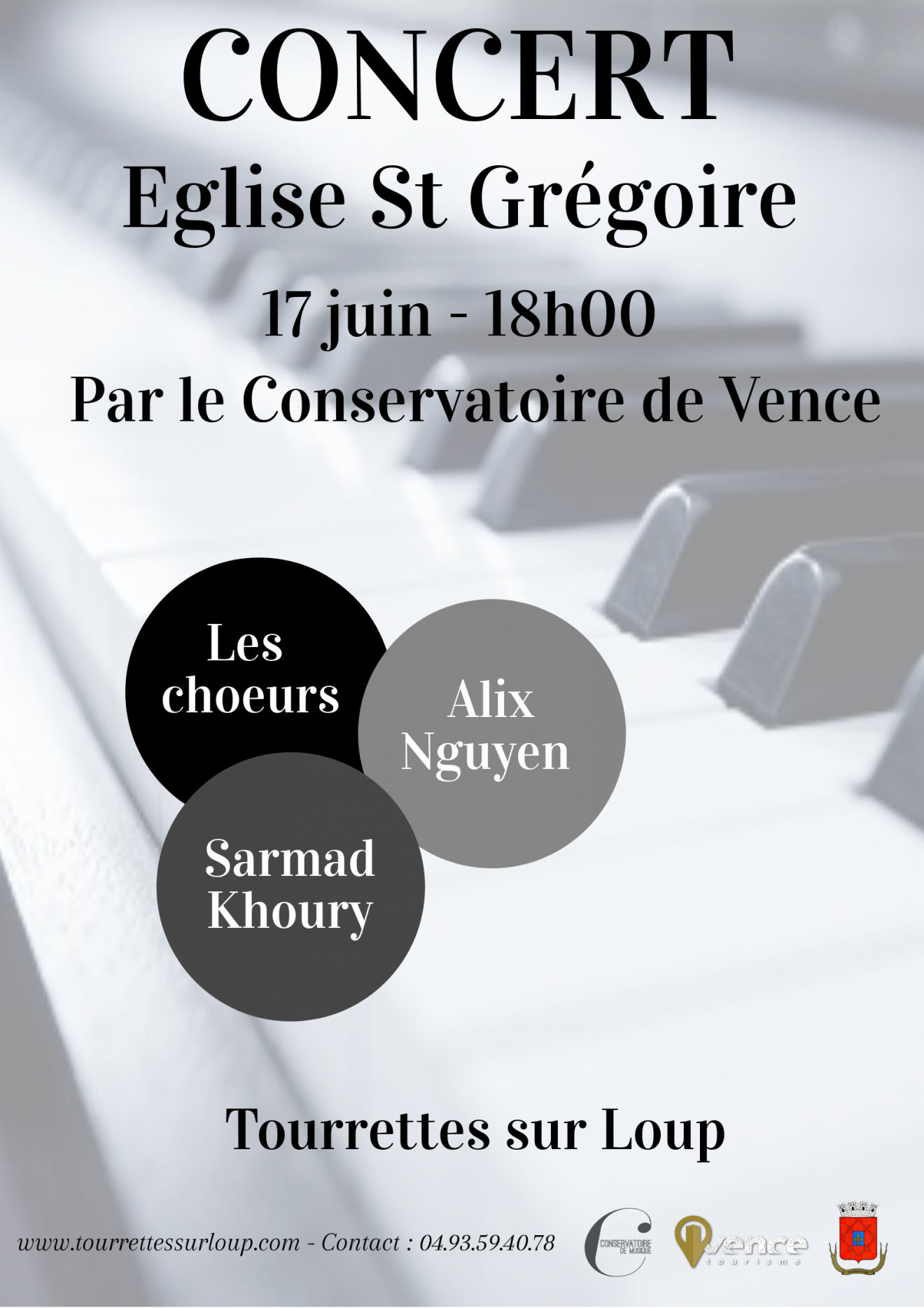 Concert - Conservatoire de Musique de Vence