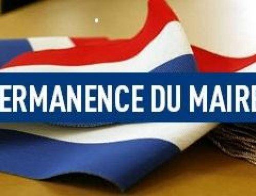 Permanence du Maire sans RDV
