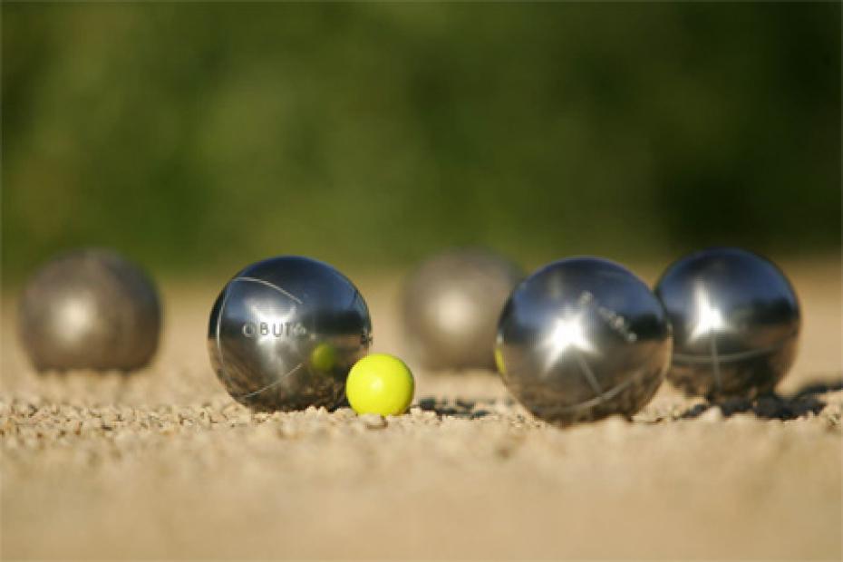 Concours de boules des commerçants