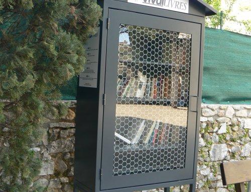 Une nouvelle boîte à livres à Tajasque !