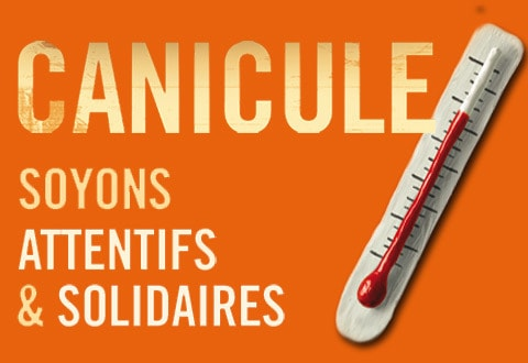 Plan canicule : attention aux fortes chaleurs