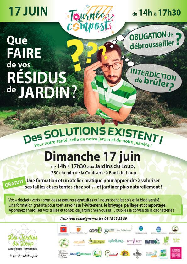 Atelier gratuit - Valorisation des déchets verts