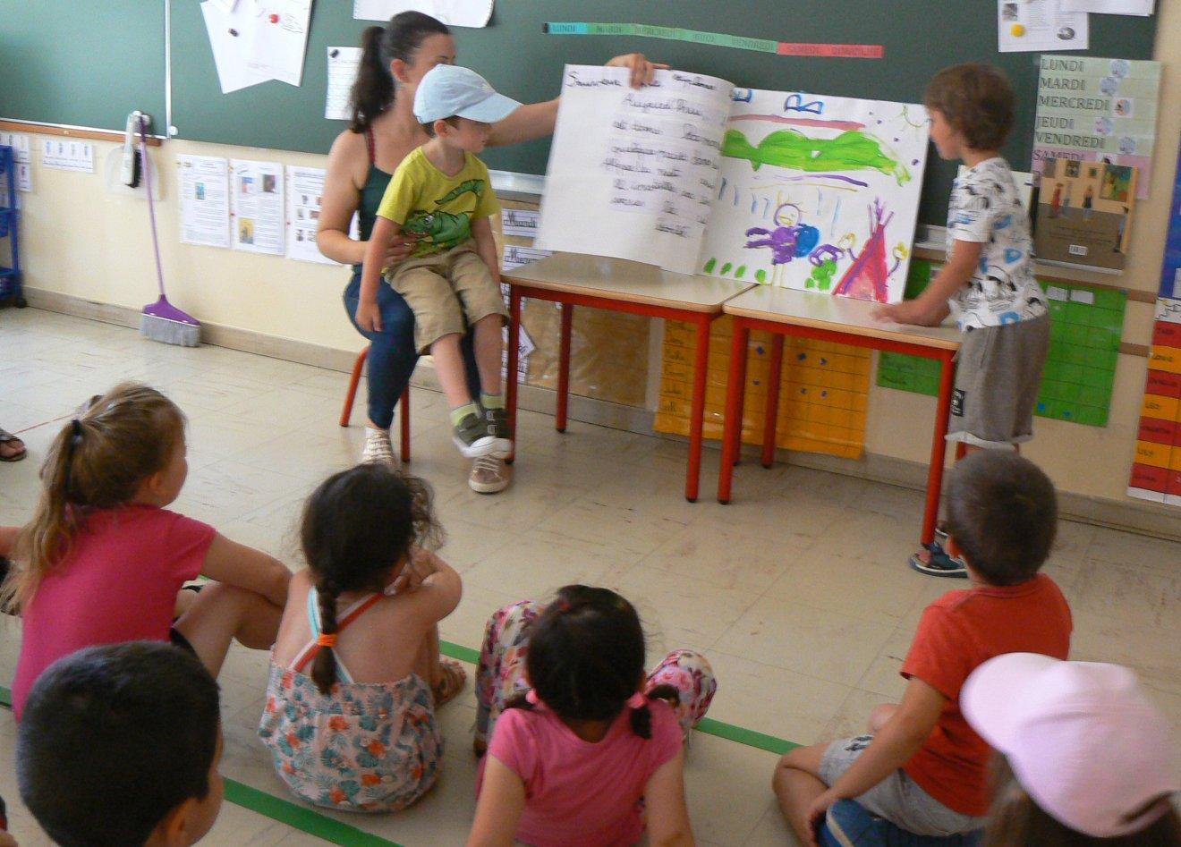 Le premier rallye lecture à l'école maternelle