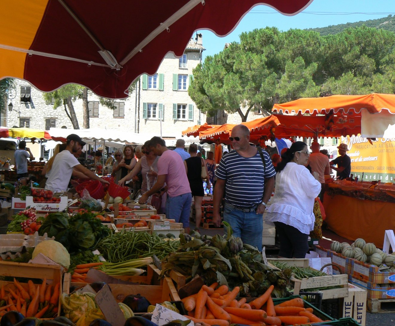 Le marché du mercredi, le plein en vitamines!