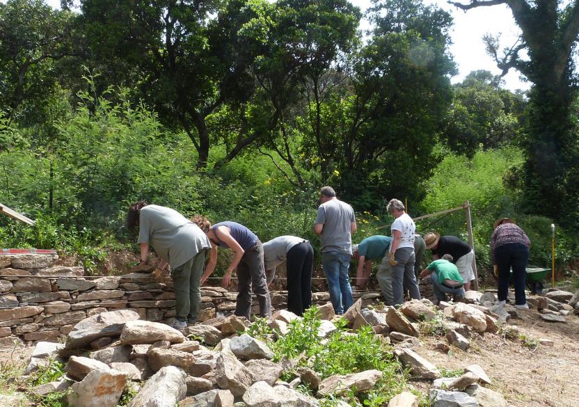 Atelier pierres sèches gratuit !
