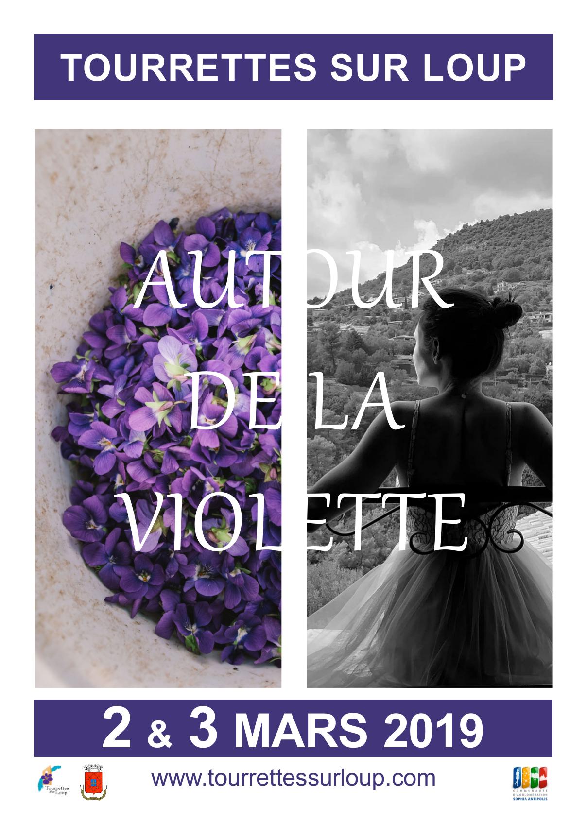 Affiche Autour De La Violette 2019 Ok