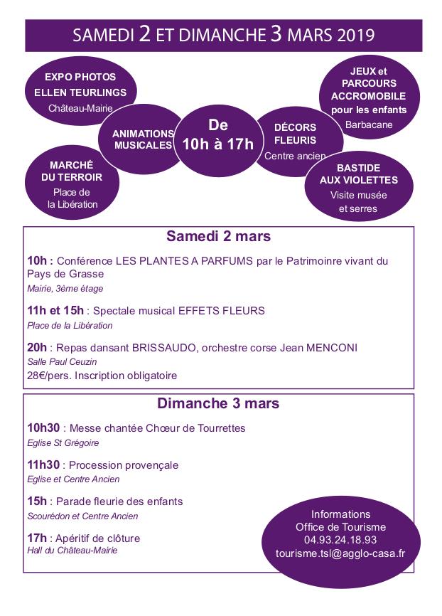 CLIQUEZ ICI - Programme Autour De La Violette 2 et 3 mars 2019