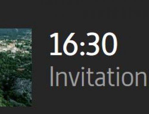 Mardi 18 sept 16h30, Tourrettes filmé sur Arte !!! A voir !