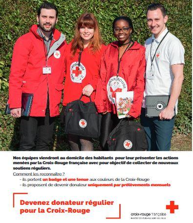 Campagne porte à porte – Croix-Rouge française