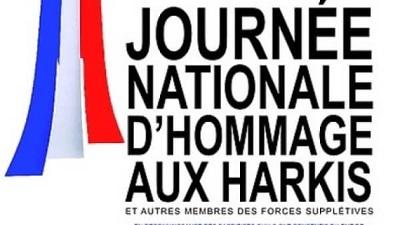 Journée nationale d'hommage aux harkis et autres membres des formations supplétives.