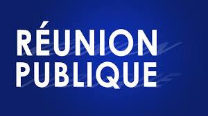 Réunion publique - Travaux quartier St Jean