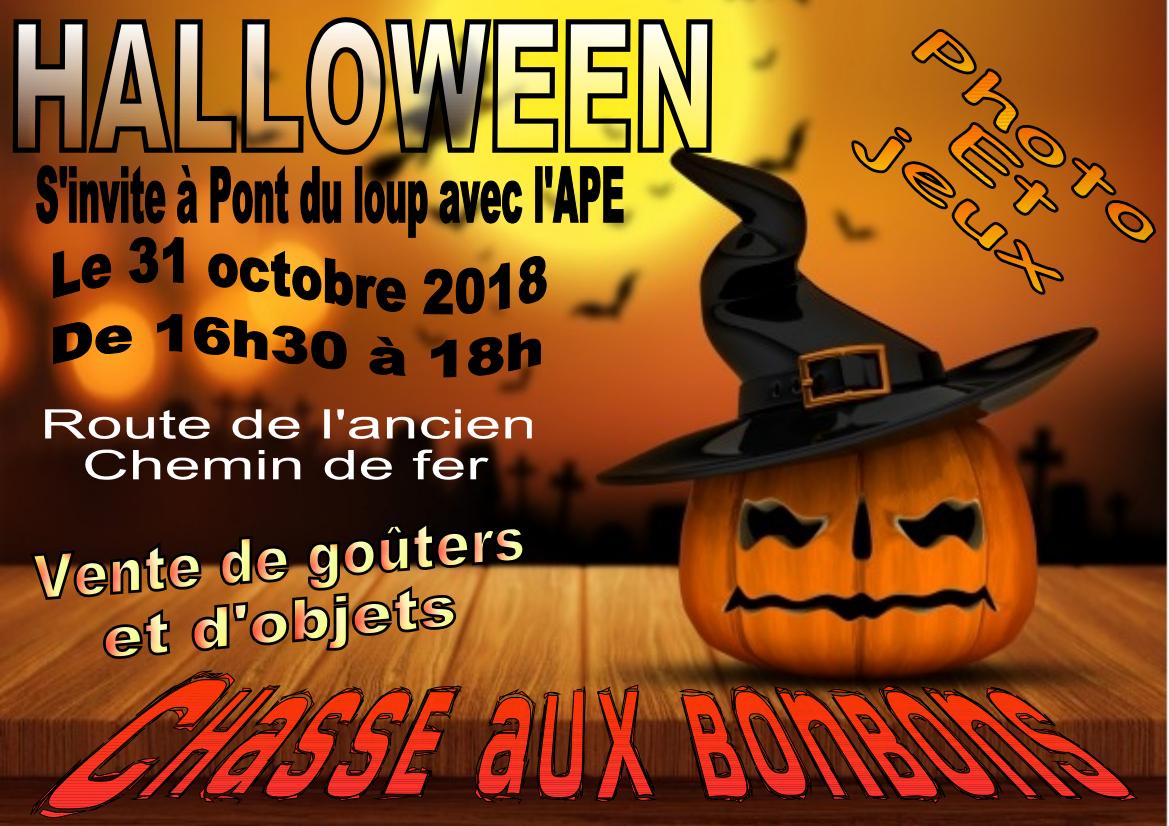 Halloween s'invite à Pont du Loup
