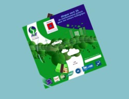 Véhicules écologiques : disque vert