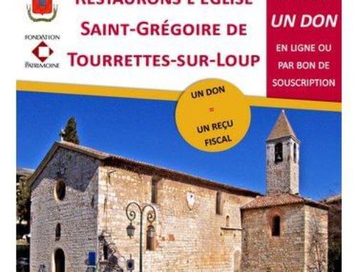 Souscription projet restauration Eglise Saint-Grégoire