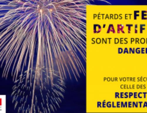 Fêtes de fin d'année, pétards et feux d'artifices interdits