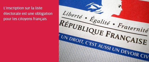 Inscription sur les listes électorales : vous avez jusqu'au 31 mars
