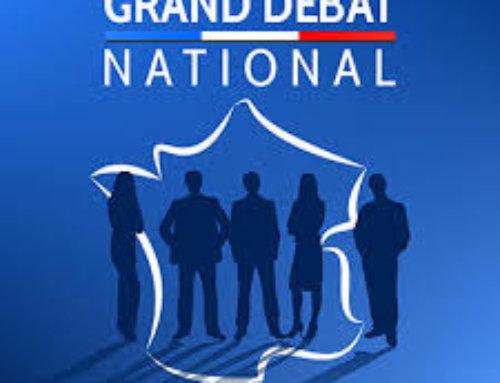 Grand débat national : réunion publique  samedi 23 février