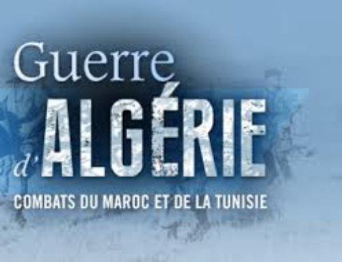 19 mars 2019 Journée Nationale à la mémoire des victimes : Algérie, Tunisie, Maroc