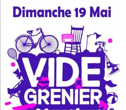 VIDE GRENIER 19 MAI