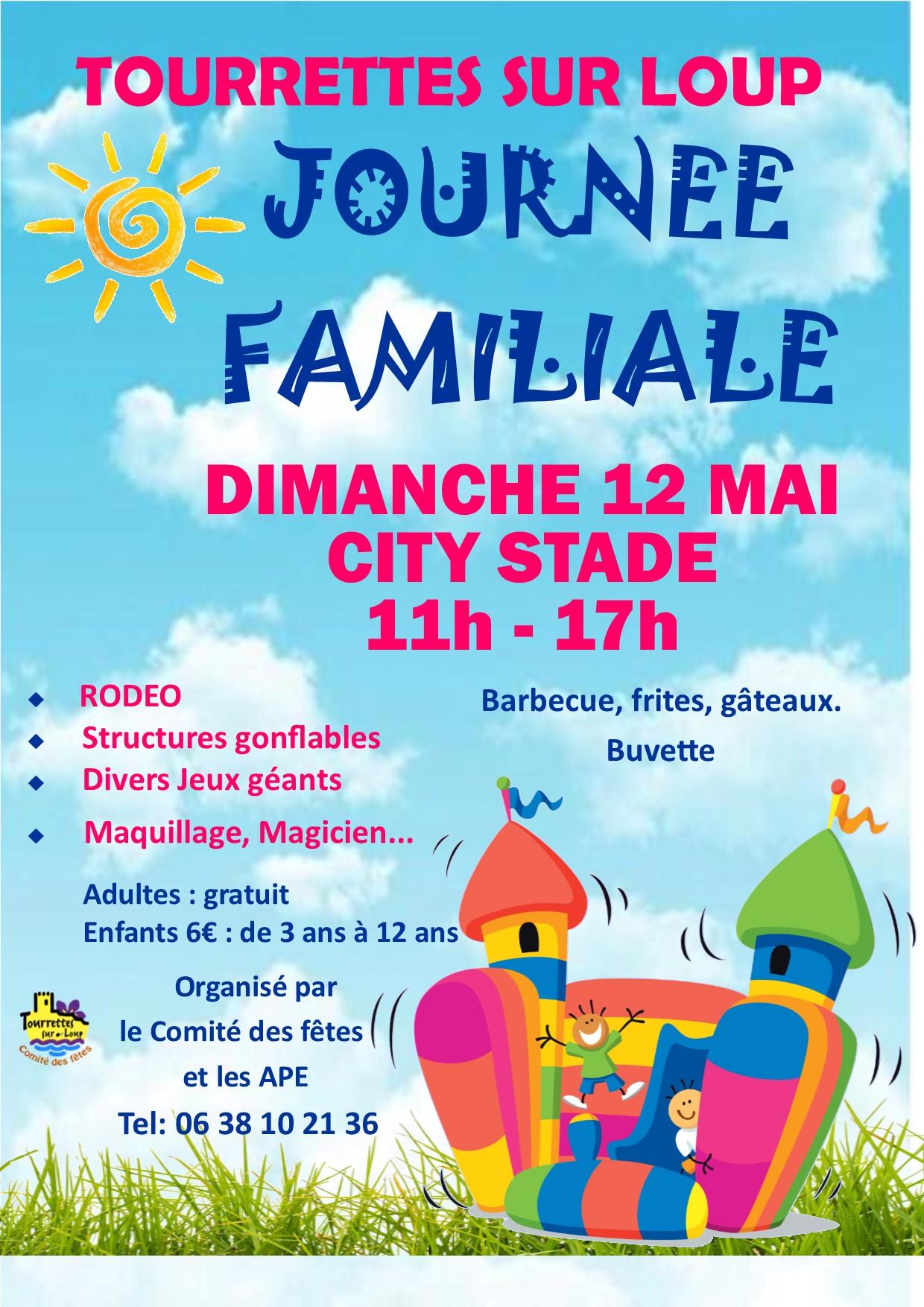 Affiche Journee Familiale 12 Mai 2019