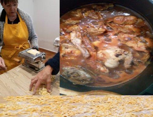 Un atelier où cuisine et convivialité vont de paire