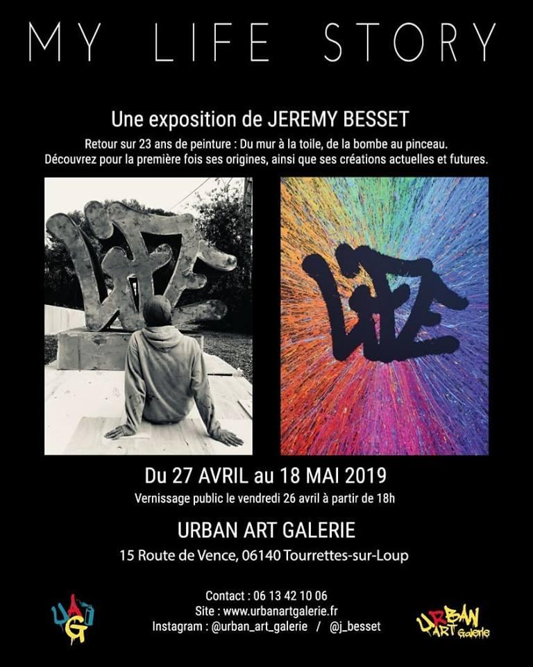 EXPO Jeremy Besset - MY LIFE STORY