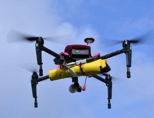 Drones pour observer la falaise