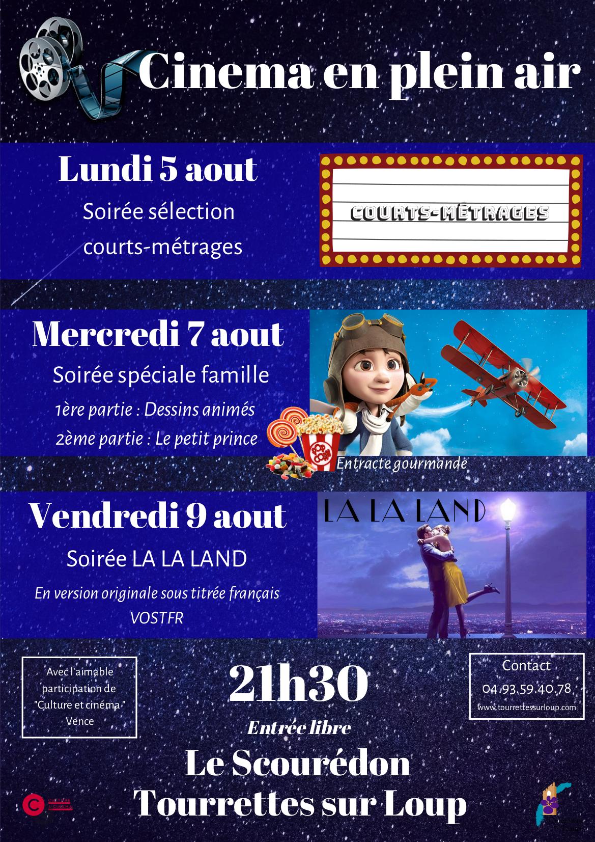 Cinéma En Plein Air - Sélection de courts-métrages