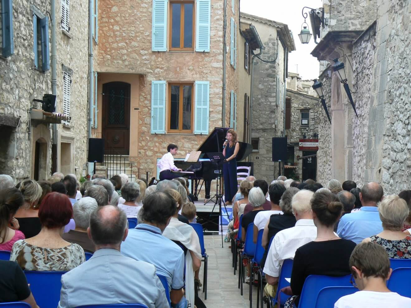 Récital et piano, un beau moment de qualité
