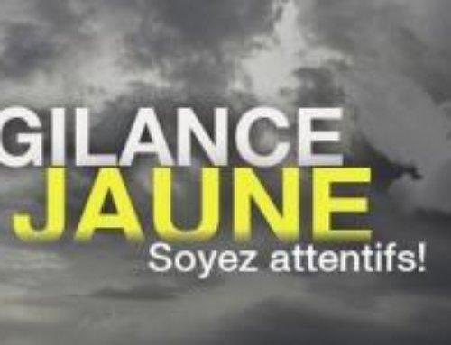 Vigilance jaune orages – Vendredi 3 juillet 2020