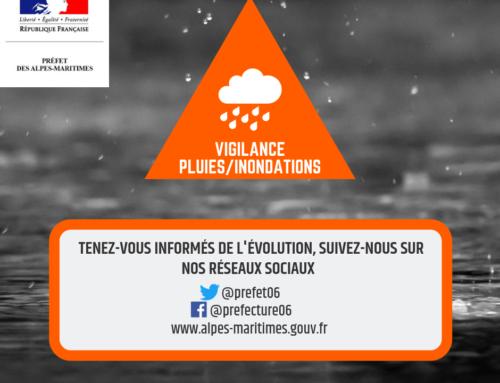 [METEO – VIGILANCE ORANGE] orages et pluie-inondation