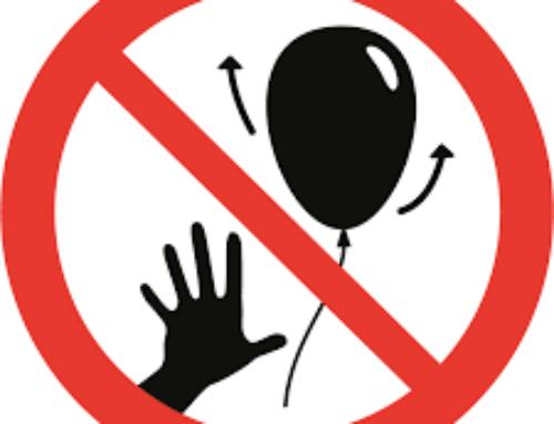 Lâchers de ballons ou de lanternes interdits