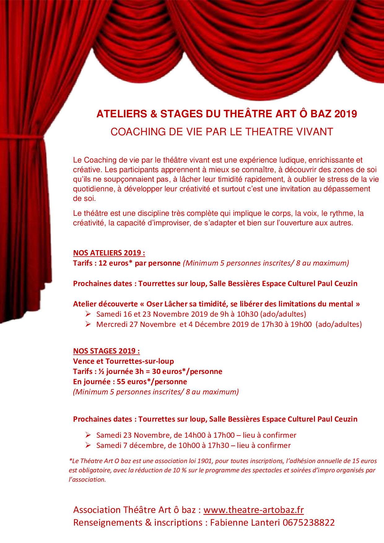 Stages Theatre 2019