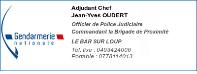 gendarmerie BSL - OUDERT