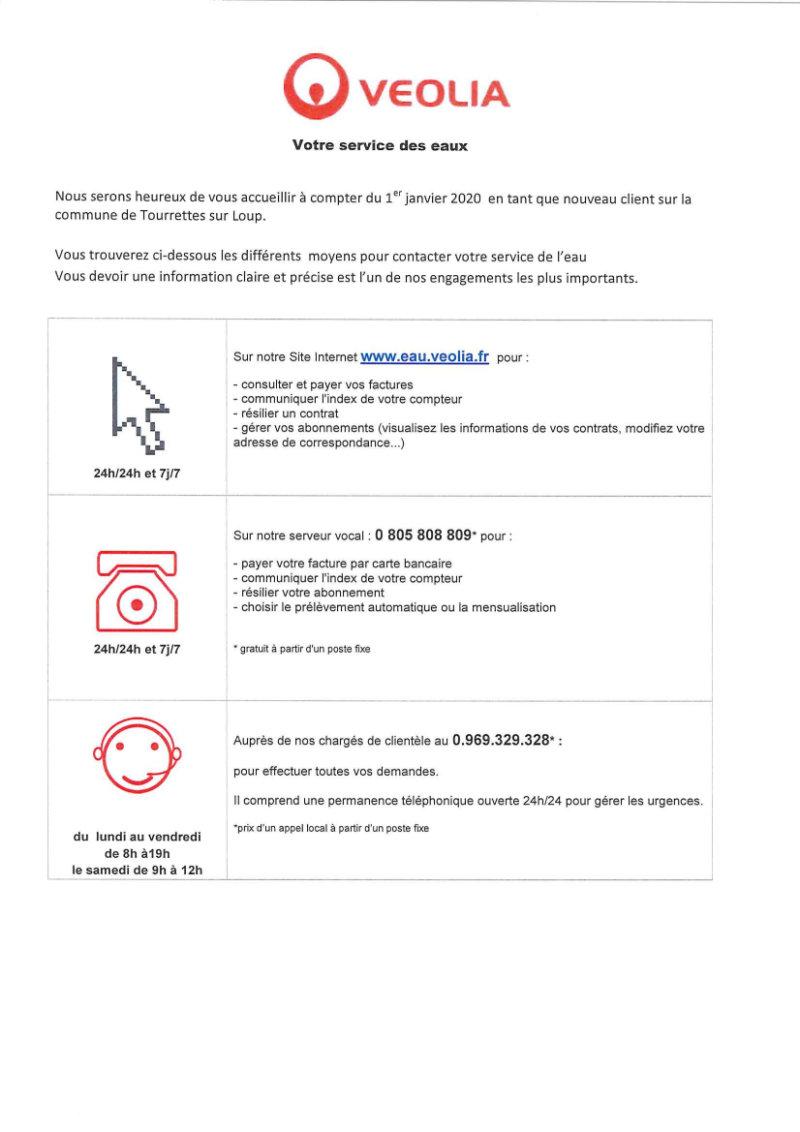 VEOLIA CONTACTS & SERVICES Maj 2020