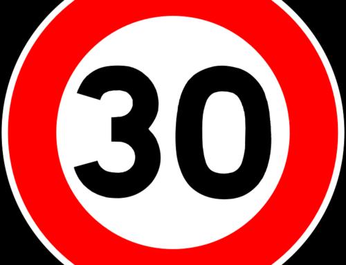 Vitesse limitée à 30km/h sur le chemin de la Papèterie