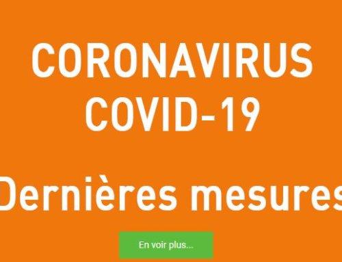 [ INFO COVID-19 ] Mesures prises sur la commune
