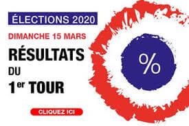 Résultats des élections municipales 2020 - 1er tour