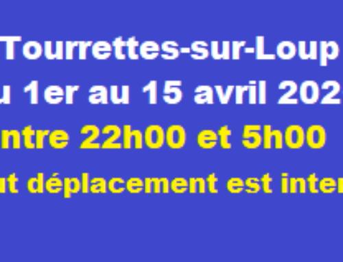 [Covid-19] Couvre-feu prolongé au 15 avril 2020