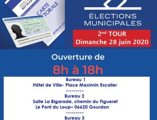 Les élections municipales 2020 – 2ème Tour