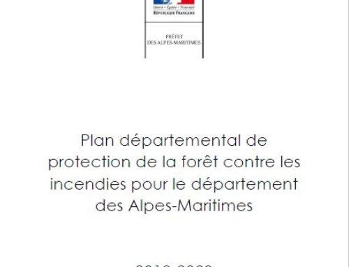 PDPFCI – Plan Départemental de Protection des Forêts contre les Incendies