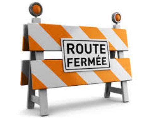 [Travaux – Route fermée] Route de St Jean