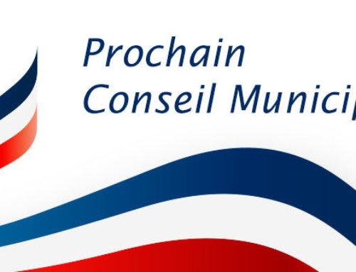 Conseil Municipal, le 10 Juillet 2020 à 18h30
