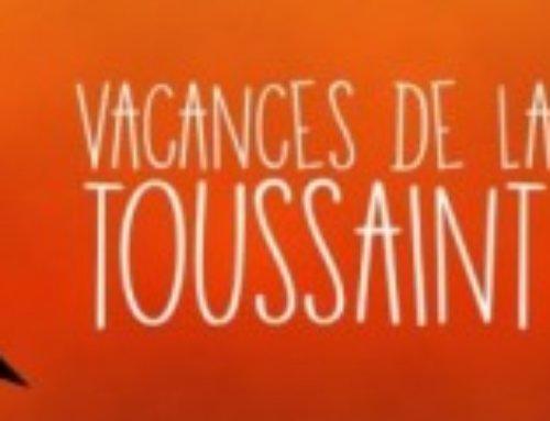 Vacances de la Toussaint – activités 3 à 13 ans