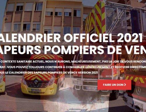 CALENDRIER DES SAPEURS-POMPIERS