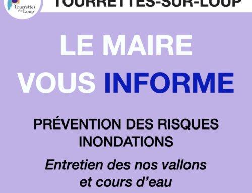 PRÉVENTION DES RISQUES INONDATIONS