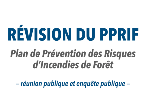 Révision du PPRIF – réunion publique et enquête publique