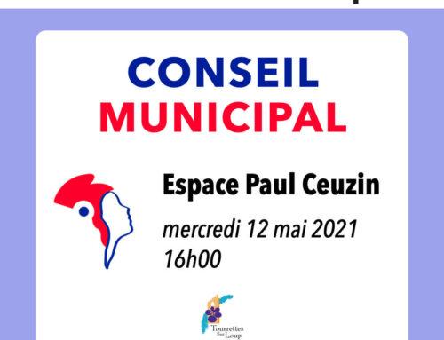 Conseil municipal du 12 mai 2021